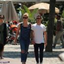 Gemma Atkinson and boyfriend Gorka Marquez out in Barcelona - 454 x 615
