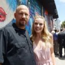 The Director David Ayer and Margot Robbie- July 25, 2016- SUICIDE SQUAD Wynwood Block Party And Mural Reveal With Cast - 454 x 302