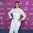 Litzy- Backstage at Telemundo's 'Premios Tu Mundo' Awards 2015