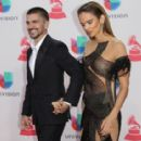 Karen Martinez and Juanes - The 17th Annual Latin Grammy Awards - Show - 454 x 285
