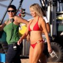 Heather Locklear - On The Set Of 'flirting With 40'