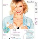 Cameron Diaz - Esquire Magazine Pictorial [United Kingdom] (November 2012)