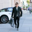 Nick Jonas spotted shopping out in Beverly Hills. February 04, 2016