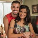 "Cauã Reymond and Vanessa Giácomo are a couple in ""A Regra do Jogo"