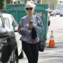 Ashlee Simpson Leaves a gym in Studio City - 454 x 655