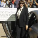 Monica Bellucci – Spotted while arrives at the Donostia award at Aquarium in San Sebastian
