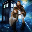 Matt Smith and Karen Gillan -