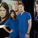 Ryan McPartlin and Sarah Lancaster