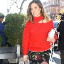 Sophia Bush – Arrives to the Bowery Hotel in NYC - 454 x 892