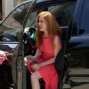 Isla Fisher – Arriving to The in Style Gifting Suite in Brentwood