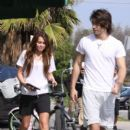Random photos of Miley Cyrus, Justin Gaston - 400 x 600