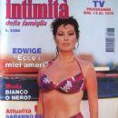 Edwige Fenech - Intimita' Magazine Cover [Italy] (12 August 1995)