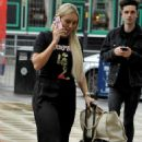 Amber Turner – makeup free in Manchester - 454 x 732