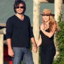 Shakira And Antonio de la Rua On Vacation In Uruguay
