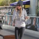 Ashley Tisdale: headed to Equinox Gym in Beverly Hills