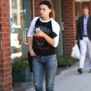 Aly Michalka in Jeans out in Beverly Hills September 7, 2016 - 454 x 650