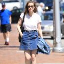 Gillian Jacobs Out and About in Beverly Hills 07/27/2016 - 454 x 627