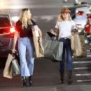 Miley Cyrus – Shopping with her Mom Tish in Studio City - 454 x 303