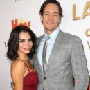 Martha Higareda and Cory Brusseau