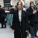 Olivia Cooke – Arriving at AOL Build Series in New York - 454 x 680