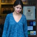 Selena Gomez: Spotted after lunch in Encino