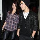 Ashley Greene leaving Beso Resteraunt (with Joe Jonas) (November 26, 2010)