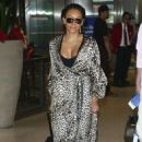 Melanie Brown – Arriving at Lax Airport In Los Angeles