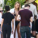 Romee Strijd in Bikini – Victoria's Secret Photoshoot in Key West - 454 x 681