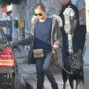 Nicole Richie and Joel Madden out shopping with their dog in West Hollywood, California on December 27, 2013 - 430 x 594