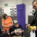 WWE Champion CM Punk meets Circle of Champions honorees in Glasgow, Scotland