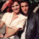 Roz Kelly and Henry Winkler