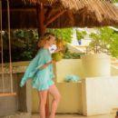 Shantel VanSanten in Bikini on the beach in Mexico - 454 x 303