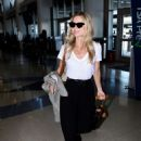 Annabelle Wallis departs from LAX - 454 x 638