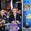 Joe Jonas announce the 2015 American Music Awards nominations at GMA Studios on October 13, 2015 in New York City
