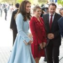 Kate Middleton at City Museum in Luxembourg - 454 x 708