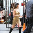 Selena Gomez – On a video set of Rare in Los Angeles