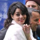 Vanessa Hudgens at the French premiere of her new movie Journey 2: The Mysterious Island