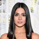 Actress Emeraude Toubia at the Freeform press line for