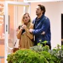 Margot Robbie and Tom Ackerley – Seen after leaving upscale Sushi Park restaurant in Los Angeles