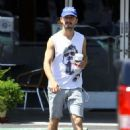 Shia Labeouf hit Home Depot and left with a whole bunch of lumber in LA on July 22