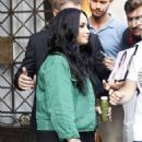 Demi Lovato – Leaving her hotel in Barcelona