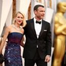 Liev Schreiber and Naomi Watts :88th Annual Academy Awards