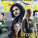 Kit Harington, Emilia Clarke, Sophie Turner - TV Mania Magazine Cover [Romania] (22 April 2016)