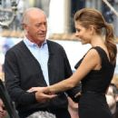 "Len Goodman gives an interview for ""Extra"" at The Grove on March 19, 2013 in Los Angeles"