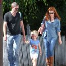 Amy Adams & Family Spotted Out In West Hollywood (September 11, 2014)