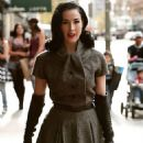 Dita Von Teese - Out In Hollywood - Dec 20, 2009