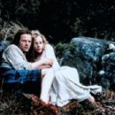 Christopher Lambert and Beatie Edney in Highlander (1986)
