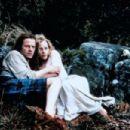 Christopher Lambert and Beatie Edney in Highlander (1986)
