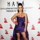 Chiqui Delgado-   The Latin Recording Academy's 2018 Person Of The Year Gala Honoring Mana - Red Carpet - 400 x 600