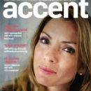 Alexandra Pascalidou - Accent Magazine Cover [Sweden] (August 2015)
